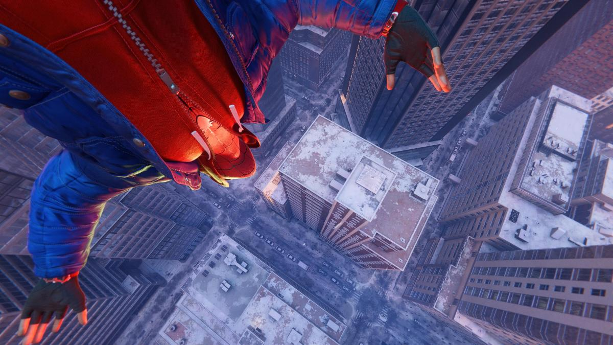 Marvel's Spider-Man: Miles Morales на PlayStation 5 /скриншот