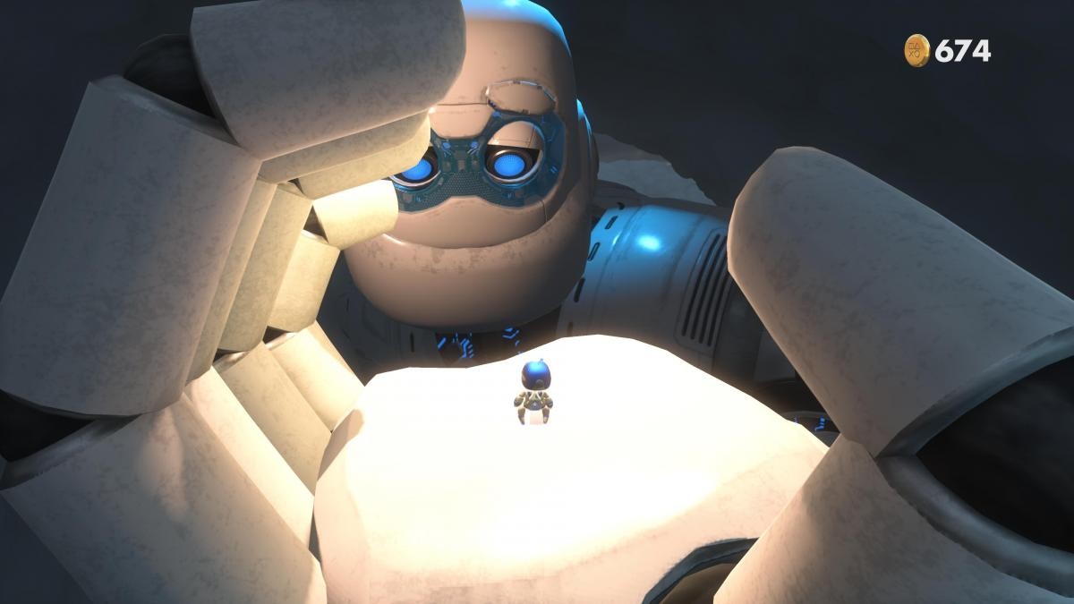 Astro's Playroom / скриншот