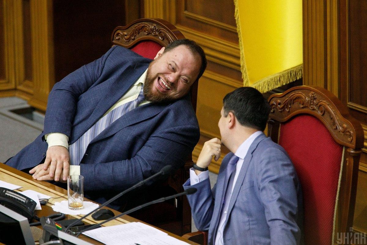 Под санкции попали и Разумков, и Стефанчук / фото УНИАН, Александр Кузьмин