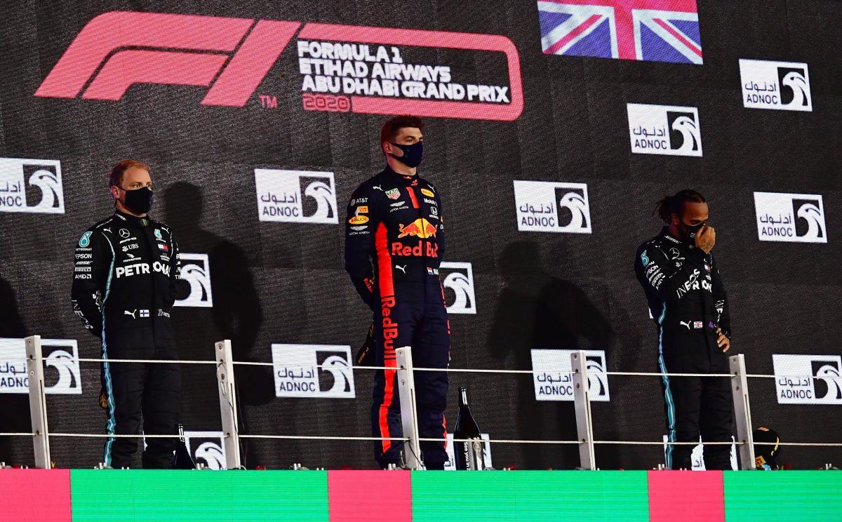 Тріо найкращих гонщиків сезону / фото REUTERS