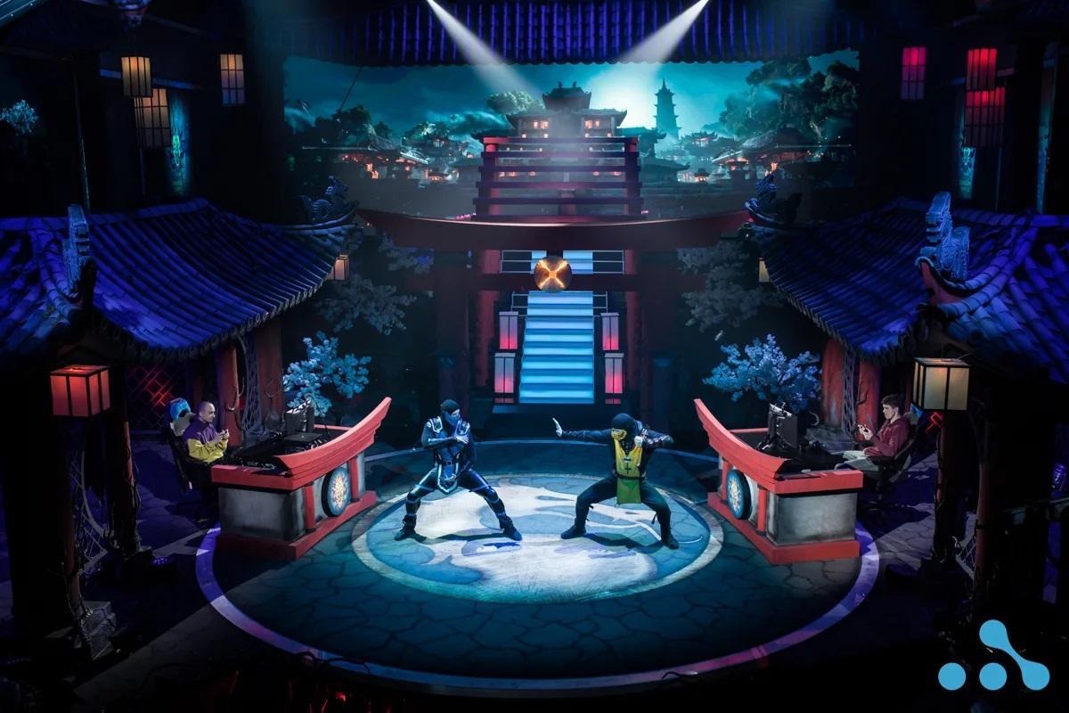 Такие декорации были построены для турнира по Mortal Kombat /фото пресс-служба WePlay Esports