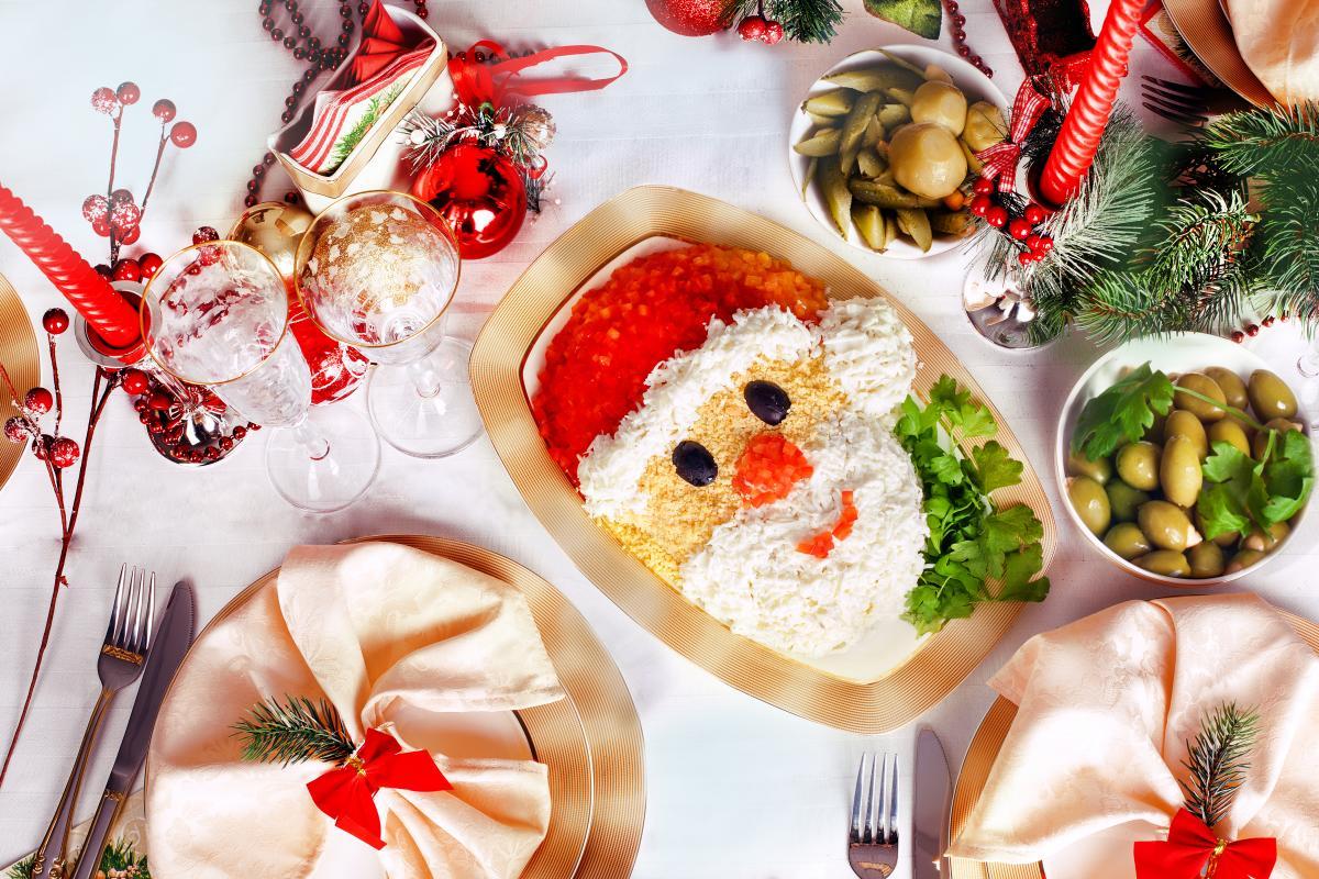 Рецепты салатов на новогодний стол / фото ua.depositphotos.com