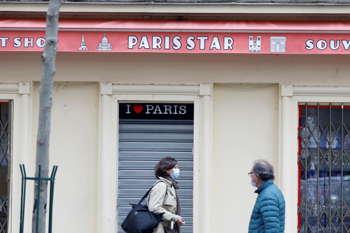 Франция готовится к третьему локдауну / фото REUTERS