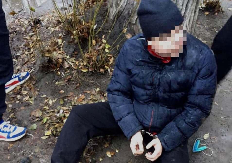 Подозреваемый в изнасиловании / фото t.me/dkr_npu/429
