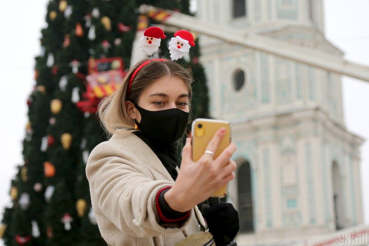 В Киеве разработали новогодний пешеходный маршрут / фото УНИАН (Виктор Ковальчук)