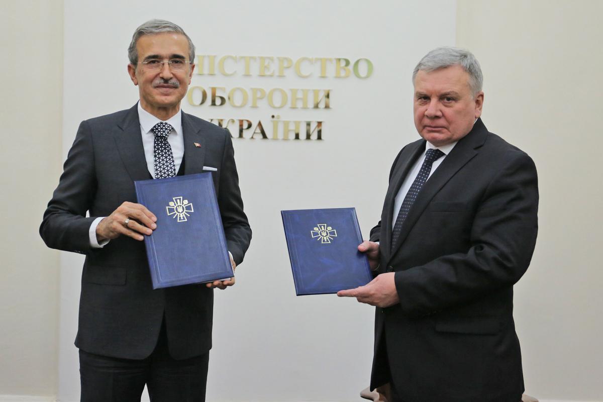 Минобороны заключило прямые сделки с турецкими компаниями / фото mil.gov.ua