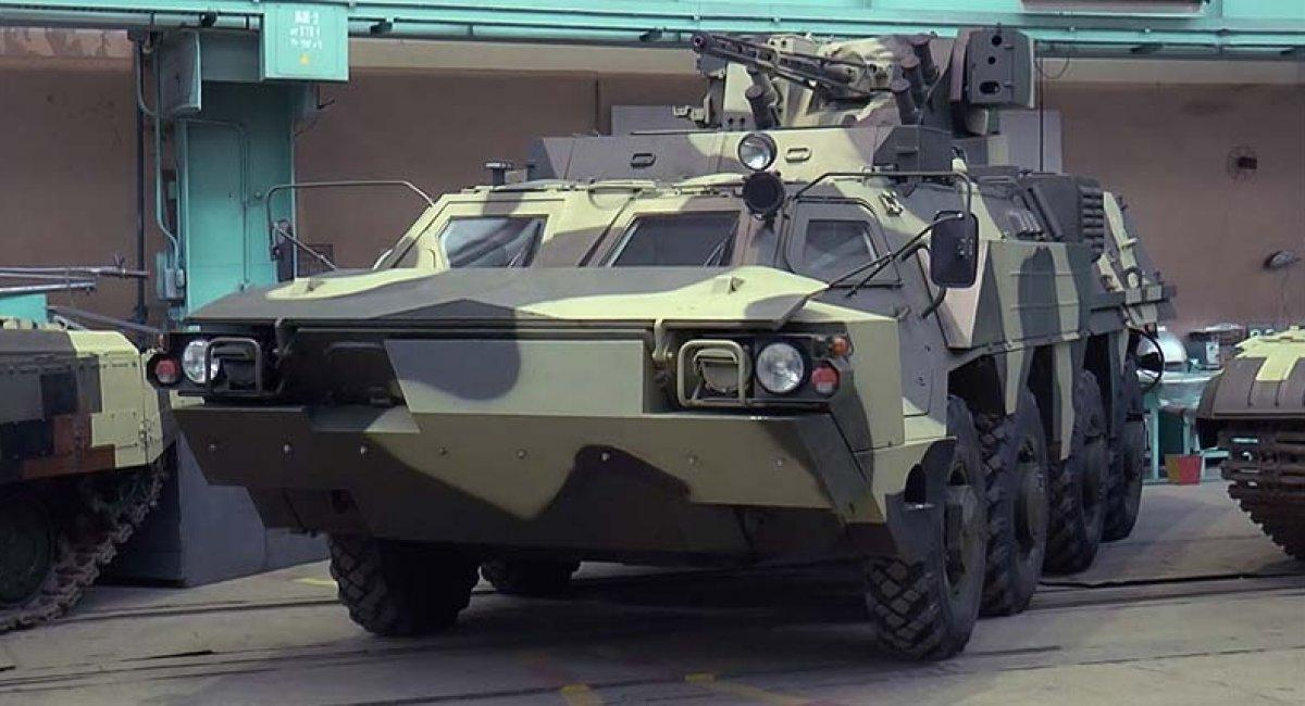 БТР-4 з підвищеною плавучістю / фото defence-ua.com
