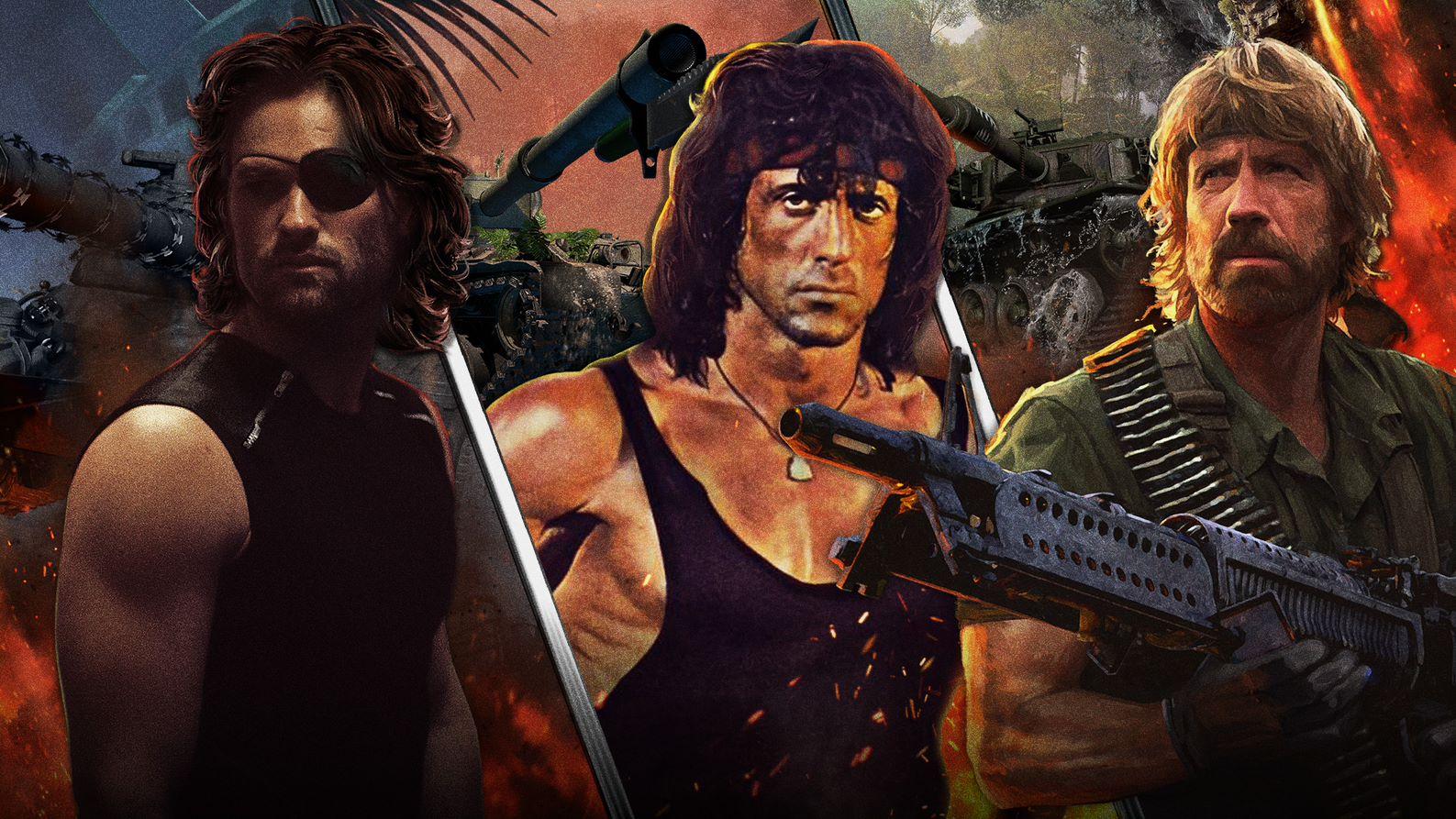 У World of Tanks оновили графіку і додали героїв з фільмів 80-х / фото wargaming.net