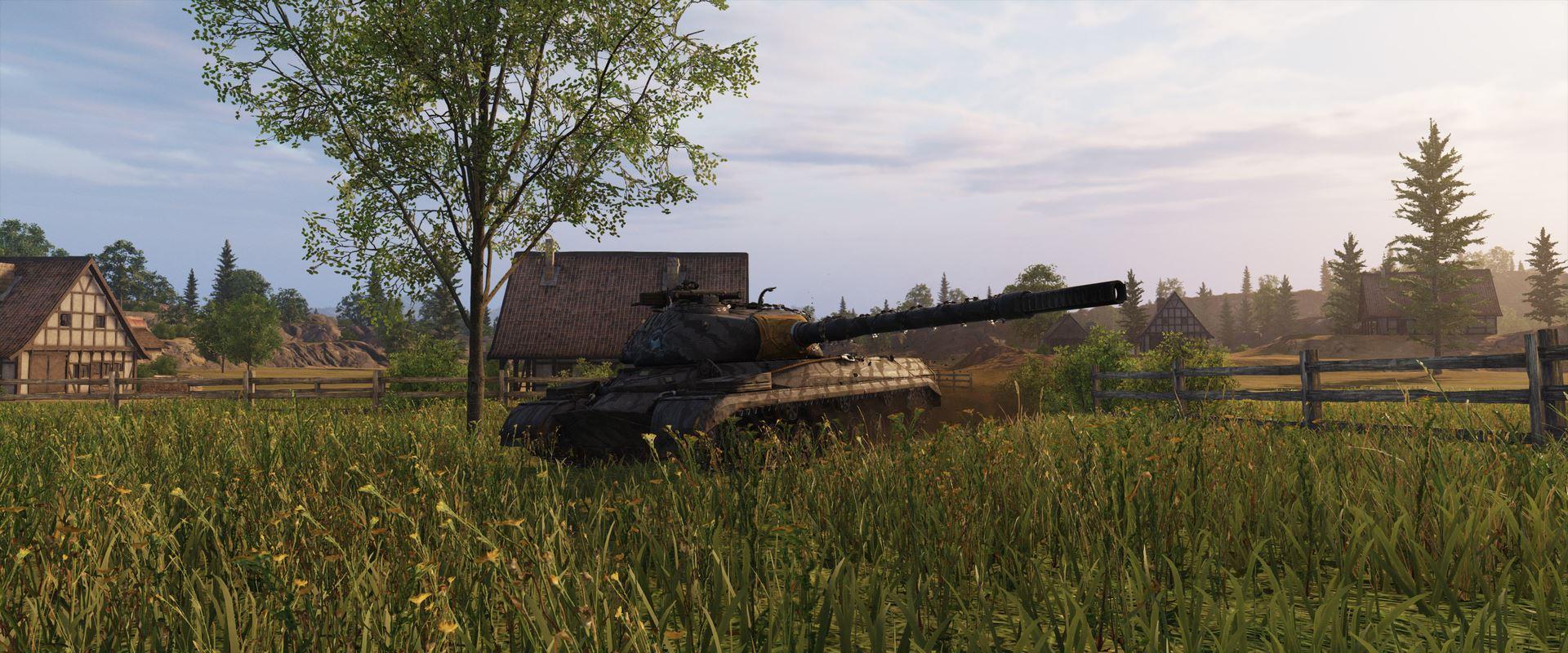 Кадр з оновленої версії гри / фото wargaming.net