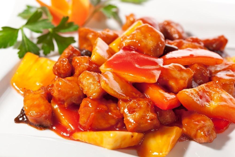 Свинина в кисло-сладком соусе с овощами / фото eda.ru
