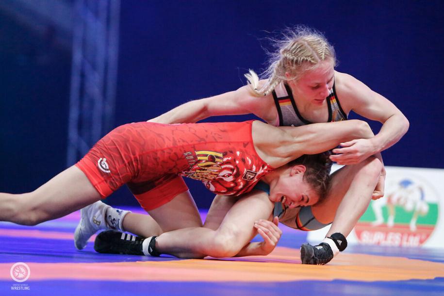 Лилия Маланчук в полуфинале победила немку / фото United World Wrestling