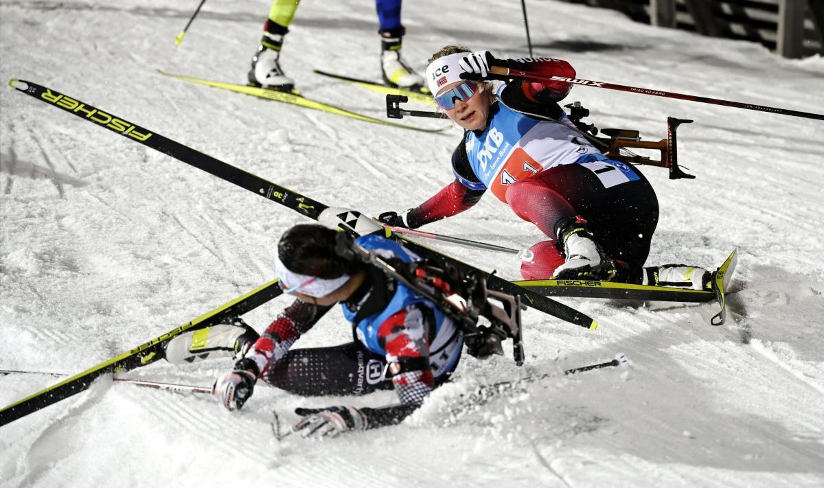 Кубок мира по биатлону / фото REUTERS