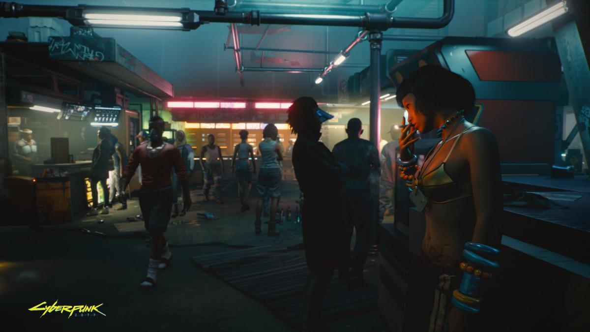 На официальных скриншотах игравыглядит отлично / фото CD Projekt RED
