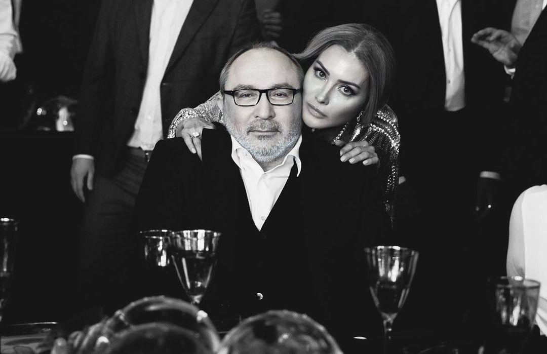 Геннадій Кернес та Оксана Гайсинська / фото instagram.com/oksanag