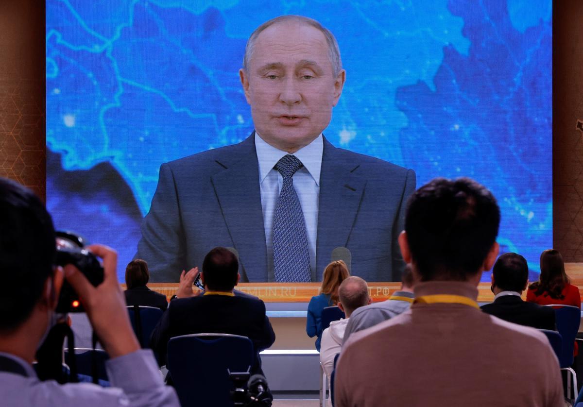 Путин ушел на самоизоляцию / фото REUTERS