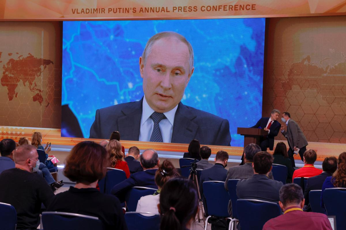 У Путина прокомментировали вопрос его вакцинации / фото REUTERS