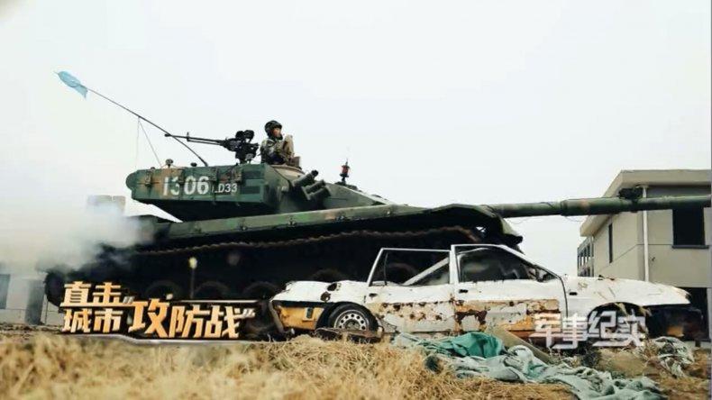 Китай показал, как он готовится к войне в городских условиях / CCTV