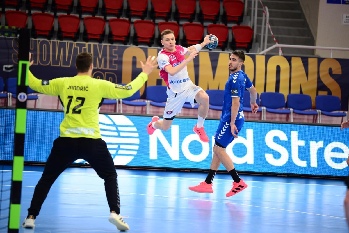 Мотор выиграл у Загреба / фото handball.motorsich.com