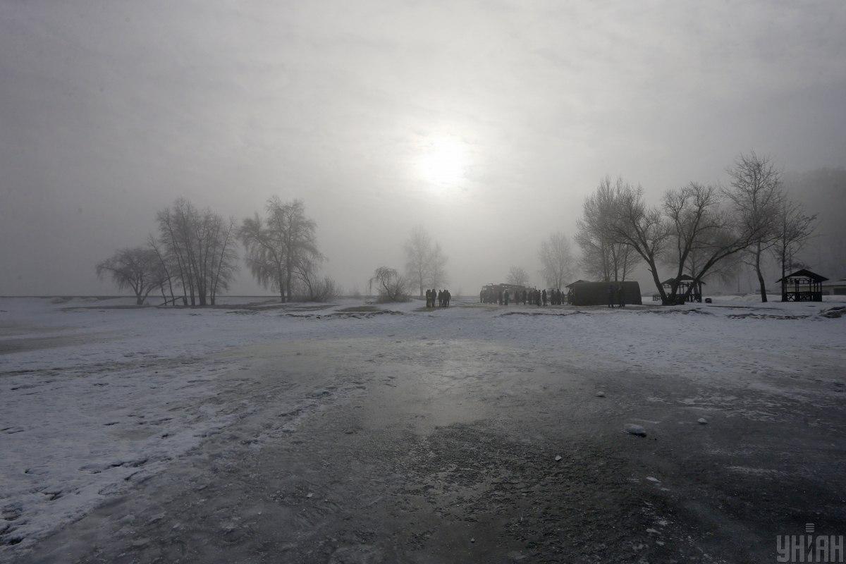 Водоемы начнут постепенно замерзать / фото УНИАН