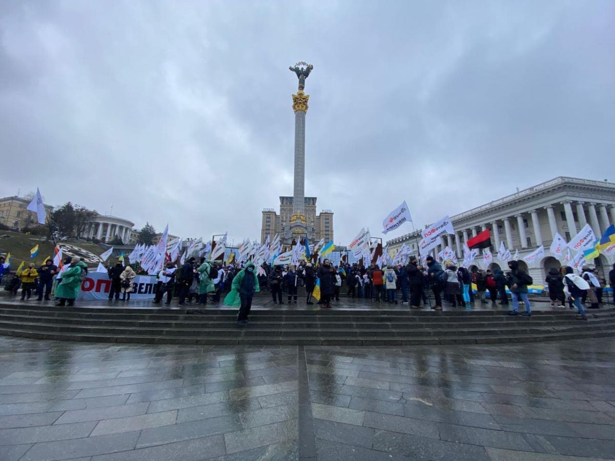 Протест ФЛП на Мадйане продолжается / Telegram-Политика Сраны