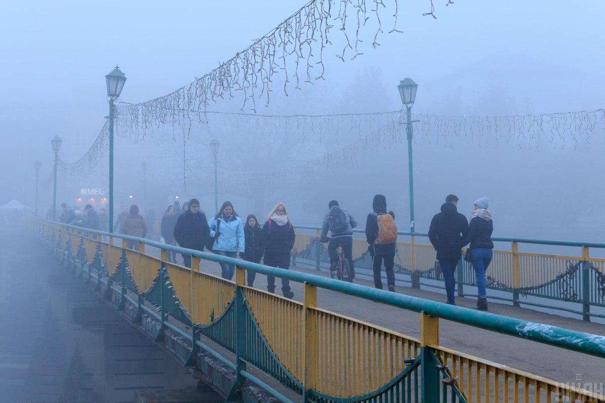 Сегодня Украину окутает туман / фото УНИАН