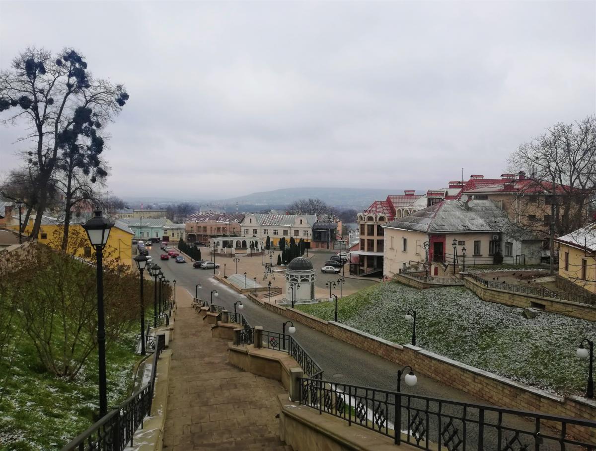 Краєвид на Турецьку площу / фото Марина Григоренко
