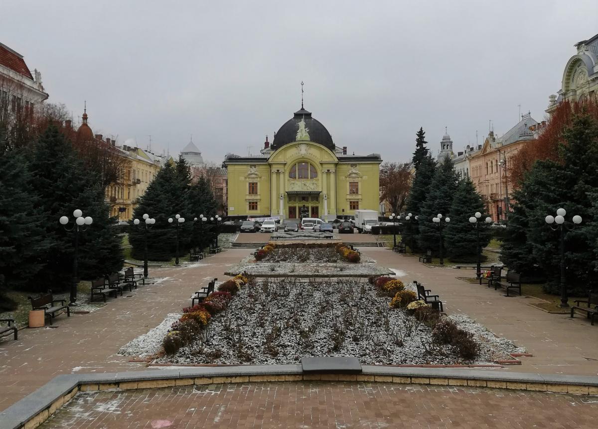 В Черновцы всегда приятно возвращаться / фото Марина Григоренко