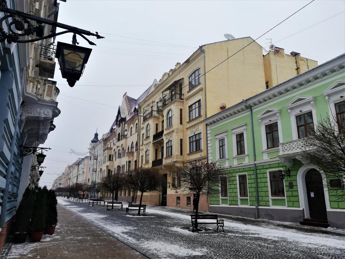Черновцы опустели из-за карантина / фото Марина Григоренко