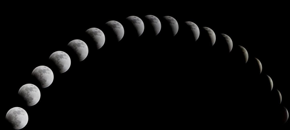 Фази Місяця в січні 2021 року / фото pixabay.com