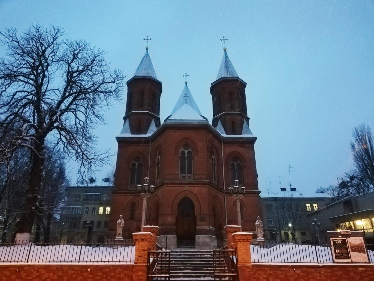 Вірменська церква в Чернівцях / фото Марина Григоренко