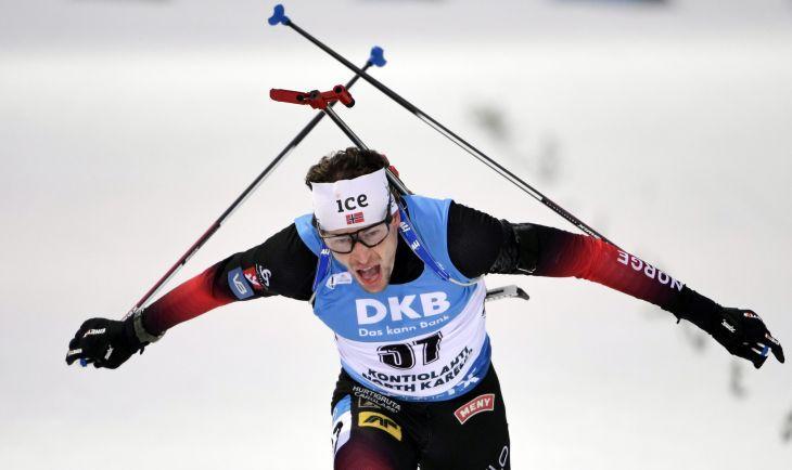 Триумфатор гонки - норвежец Стурла Легрейд / фото REUTERS