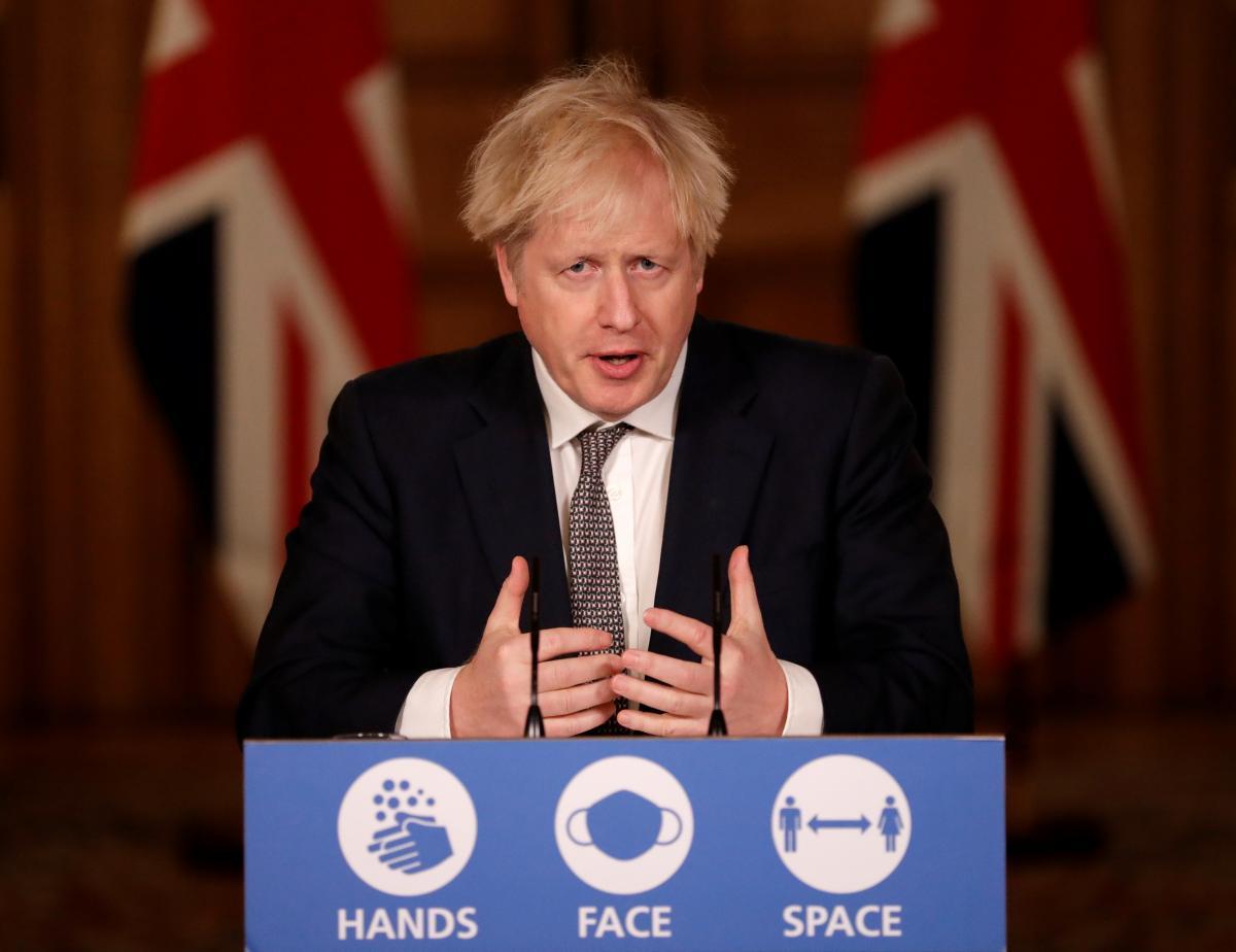 Борис Джонсон анонсировал ужесточение карантина в Лондоне и части Англии /REUTERS