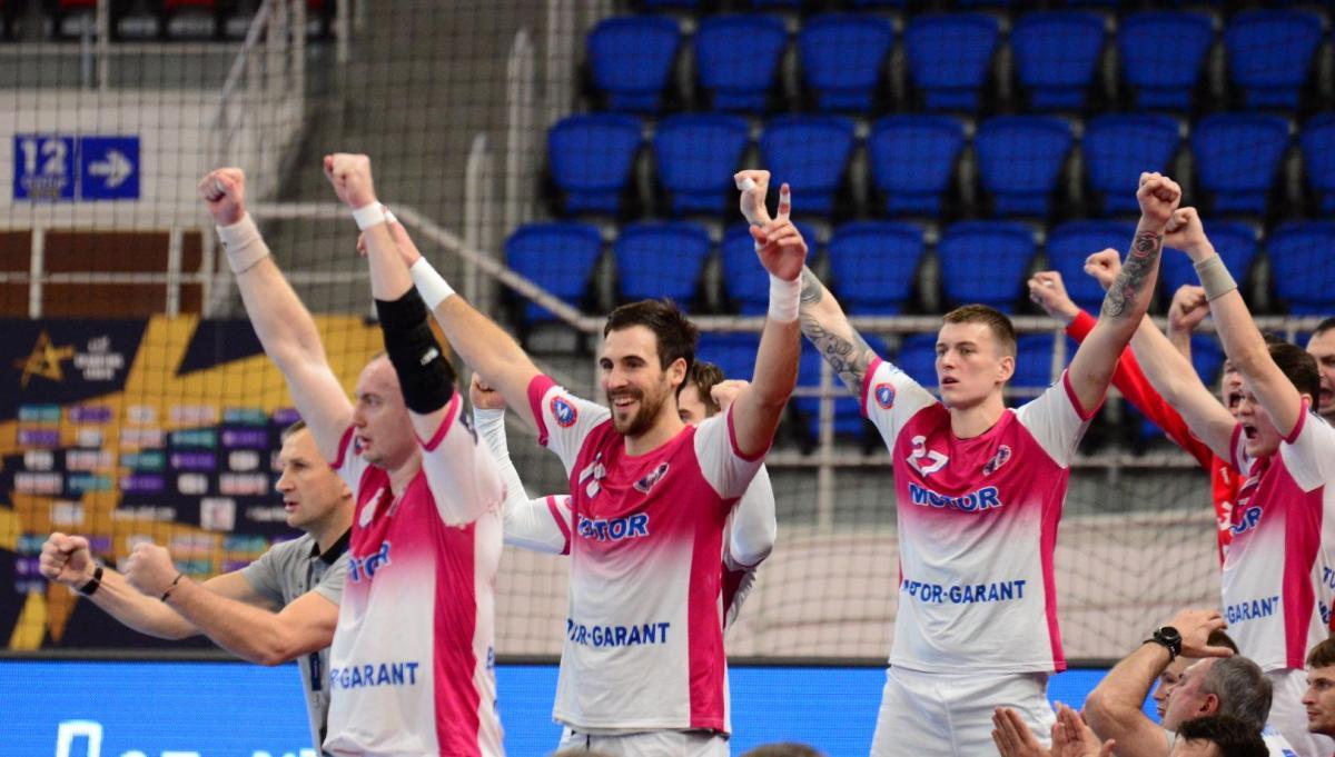 Игроки Мотора / фото handball.motorsich.com