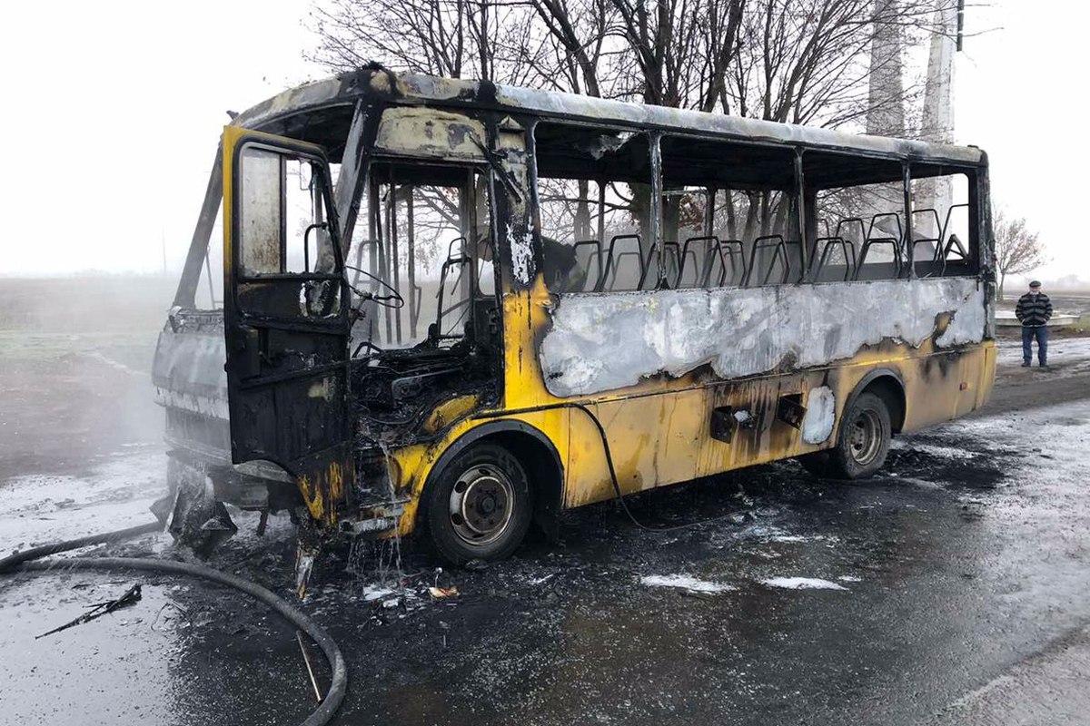 В результате пожара никто не пострадал / фото dp.dsns.gov.ua