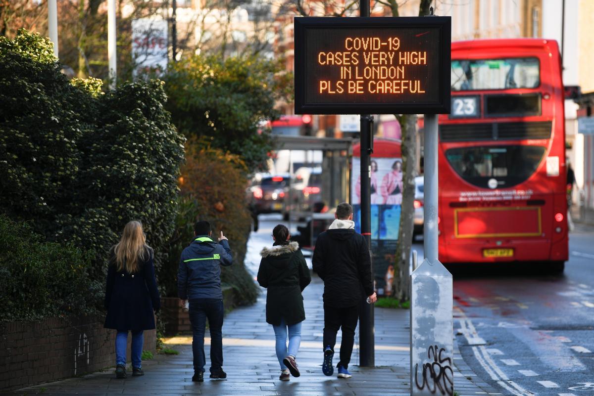 Новый штамм коронавируса / фото REUTERS