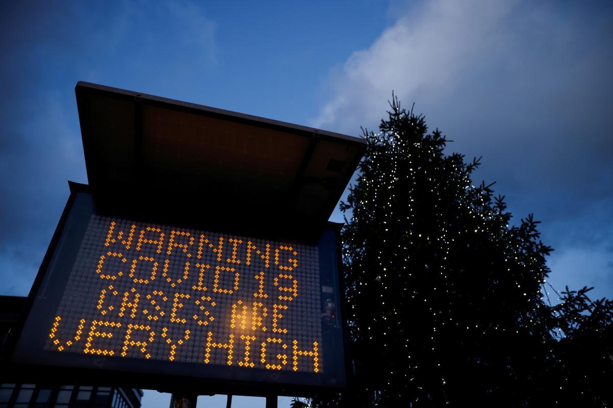 Новый штамм коронавируса в Британии / фото REUTERS