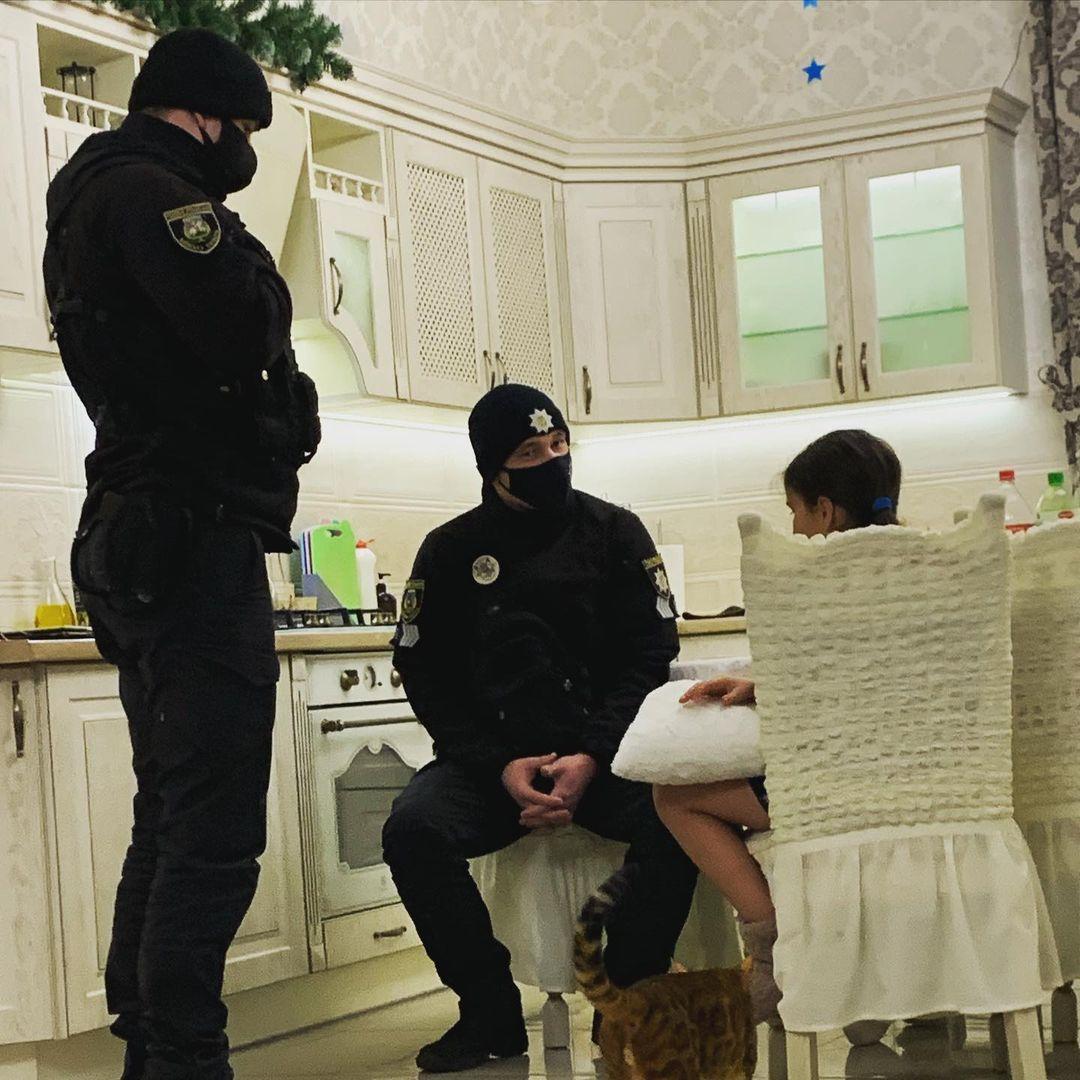 Приходько вызвала полицию на дочь / instagram.com/prykhodko_official