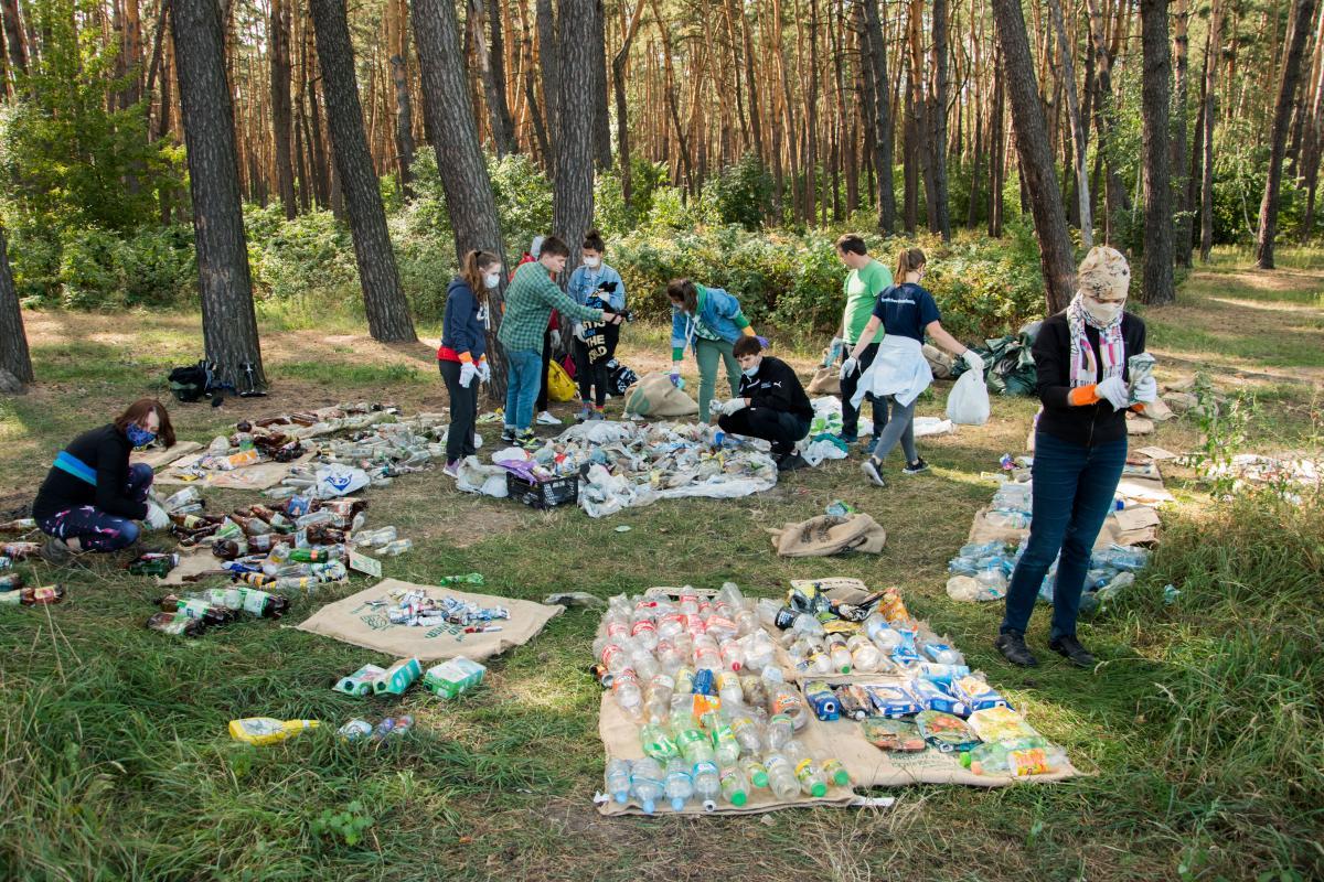 Міжнародний рух Break Free From Plastic домігся того, що деякі компанії оголосили про кількість виготовленого пластику / фото ГО Zero Waste Society