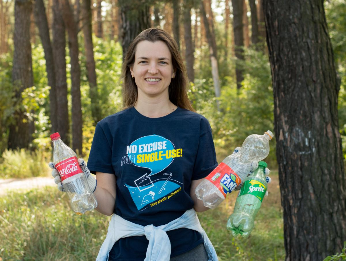 На думку Анастасії Мартиненко, можливого прийняттязакону «Про управління відходами»недостатньо для вирішення проблеми /фото ГО Zero Waste Society