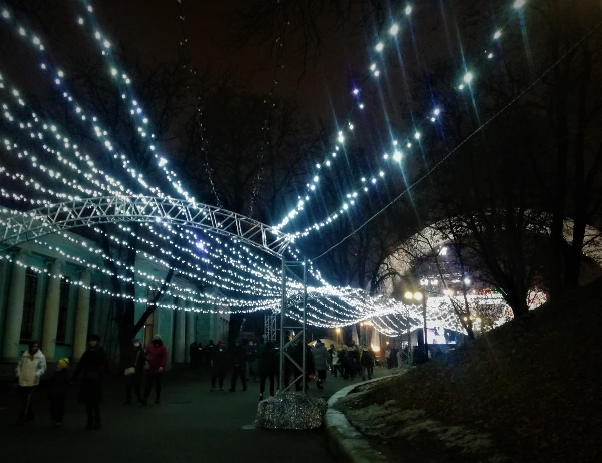 «Зоряне небо» дорогою до Арки Дружби народів / фото Марина Григоренко
