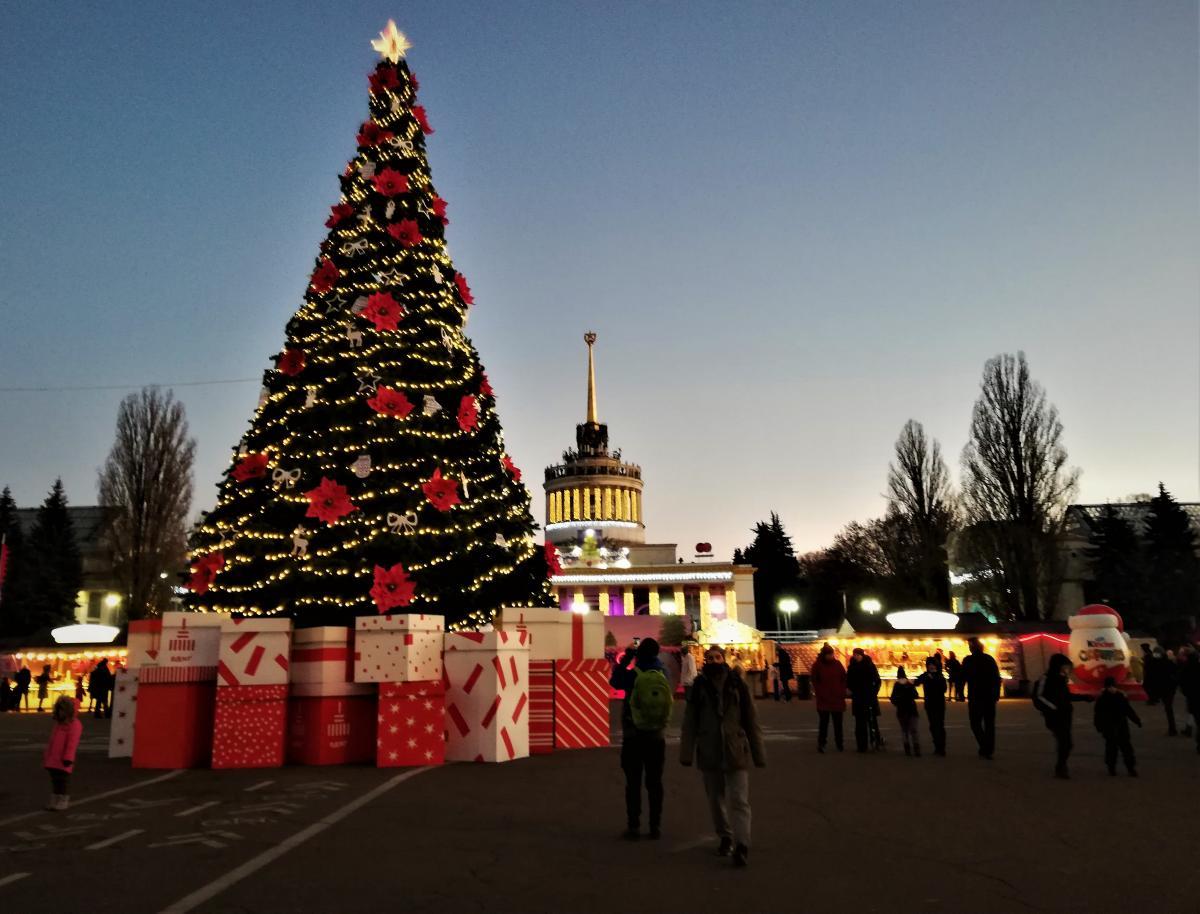 «Зимова країна» на ВДНГ запрацювала наприкінці листопада / фото Марина Григоренко