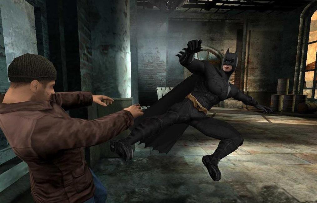 Кадр з гри Batman Begins / скріншот