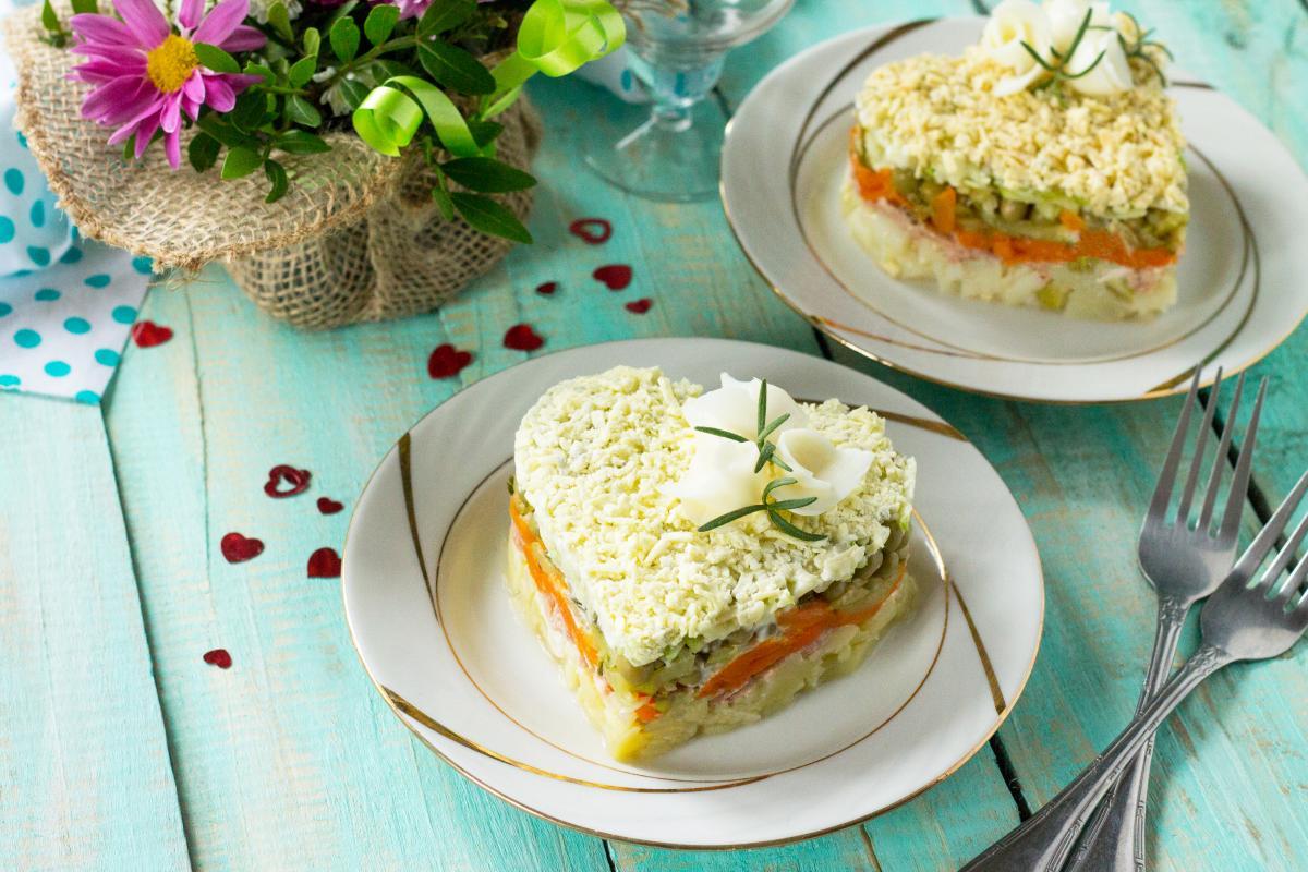 Рецепт салата Мимоза / фото ua.depositphotos.com
