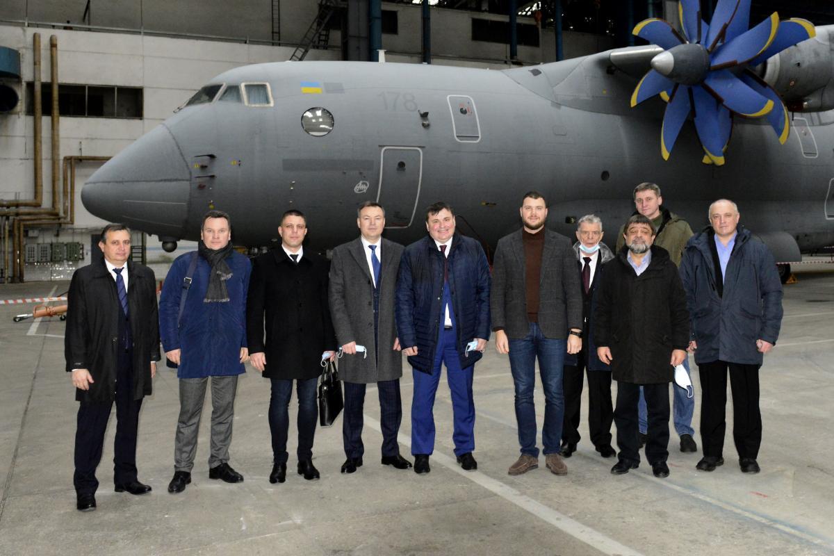 Контракт на будівництво трьох літаків Ан-178 буде підписаний до кінця року / фотоУкроборонпром