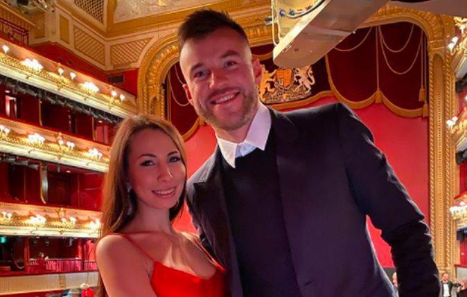 Андрій Ярмоленко з дружиною Інною / фото instagram.com/yarmolkina10