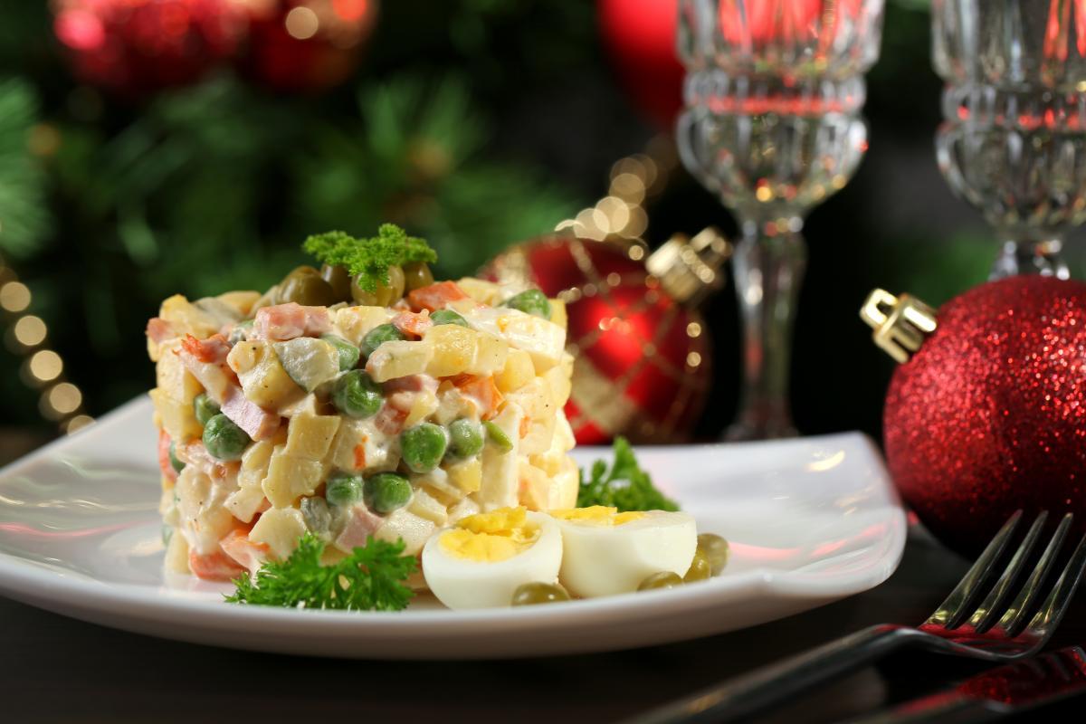 Рецепт салата Оливье / фото ua.depositphotos.com
