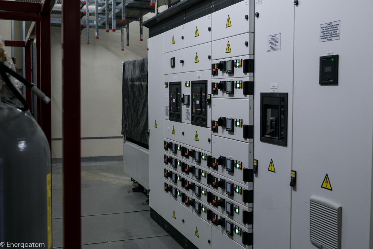 Один із вузлів електропостачання