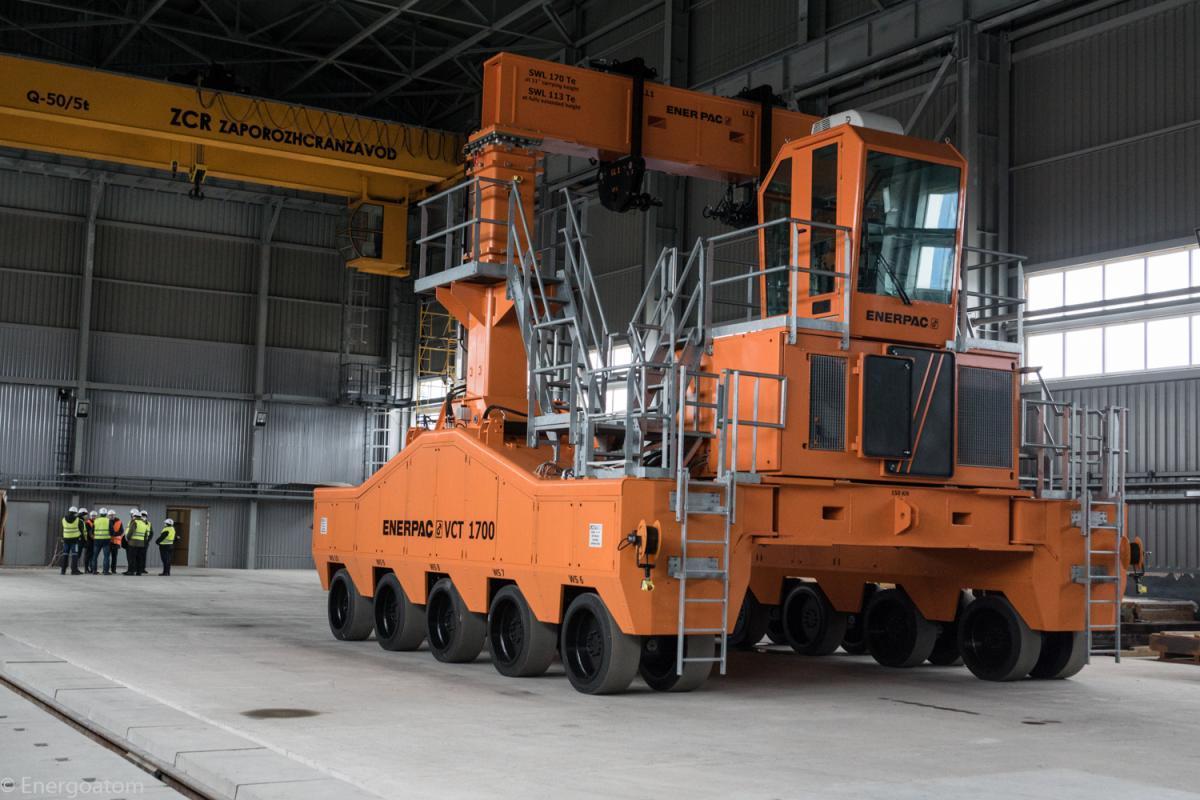 Вертикальний контейнерний транспортер (ВКТ)