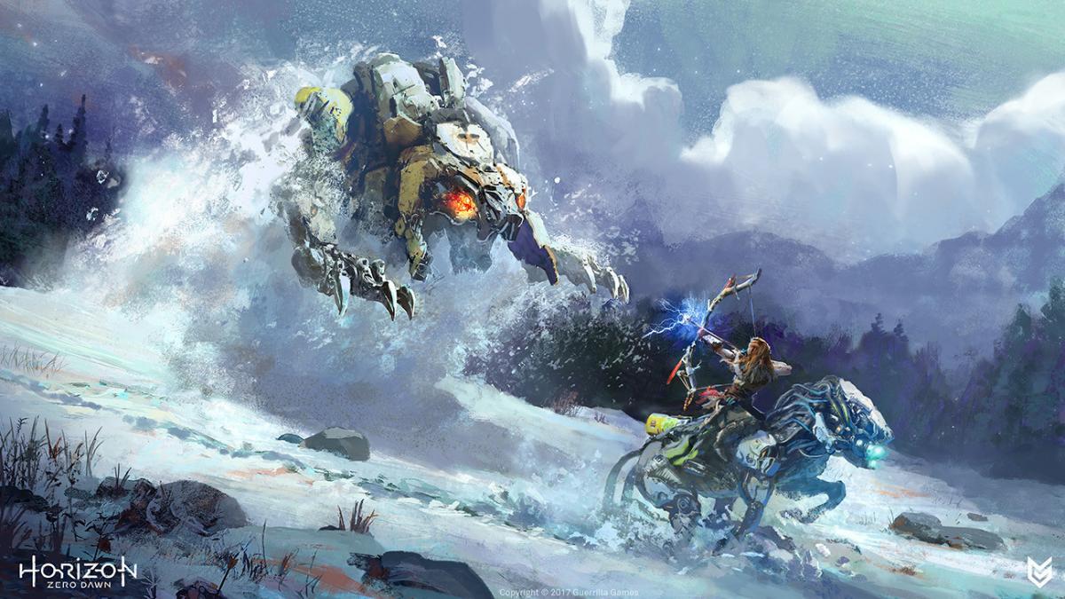 Horizon Zero Dawn отримала знижку на зимовому розпродажі / фото Guerrilla Games