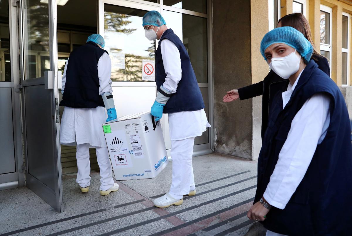 Вакцина от коронавируса - Сербия начинает вакцинацию населения / REUTERS